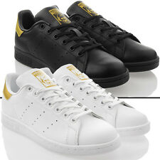 chaussures neuves ADIDAS STAN SMITH J Baskets unisexes Loisirs CUIR ORIGINAL