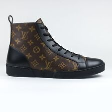 100% Auth Mens Louis Vuitton Matchup Sneaker Boots Monogram Brown