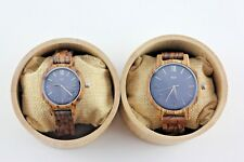 Couple wood watch,women watch,engrave wood watch,anniversary gift,couple watches