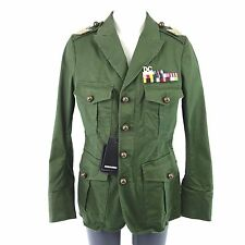DSQUARED2 Dsquared 2 Giacca s75bn0457 I 42 verde military donna NP 1109 NUOVO