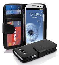 Magnetic lock Leather Flip Wallet Book Case Cover For Galaxy S4 i9500 S3 i9300