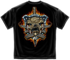 Marine Corps, USMC T-Shirt Once And Always A Marine Black