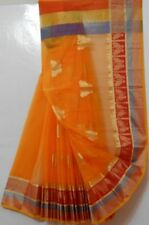 Cotton Kota Saree With Butterfly Booti All Over & Brocade
