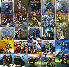 Wow World Of Warcraft Neca Dc Figuras: Shandris,Orco ,Illidan,Stormrage,Grom ,