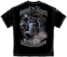 Marine Corps, USMC T-Shirt Usmc Second To None Black