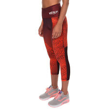 Venum Dune Ladies MMA Crop 3/4 Leggings Gym Sports Pants Womens Training Spats