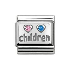 Nomination Italy Nominations Silver My Family Children Boy Girl Kids Charm