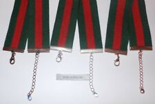 GUCCI CHOKER - REWORKED HANDMADE GENUINE VINTAGE GUCCI STRAP MATERIAL