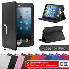 Cuero Artificial Funda tipo libro para Apple iPad 2/3/4 AIR MINI