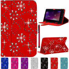 Universal Plegable Folio Libro de Cuero Funda Soporte para Android Tablet Pc 7