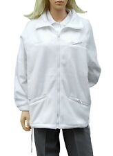 Cathedral pile articfleece zip jacket COMPLETO DONNA bocce di poliestere bianco