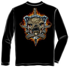 Marine Corps, USMC Long Sleeve Always A Marine Black