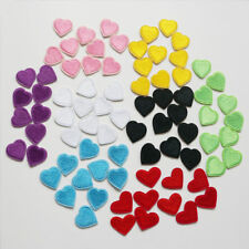 10 x Embroidery Love Heart Sew Iron On Patch Badge Bags Hat Cap Jeans Applique