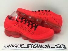 NIKE AIR VAPORMAX FLYKNIT X CLOT UK 8 9 10 12 AA2241-006 2017 BRIGHT CRIMSON RED
