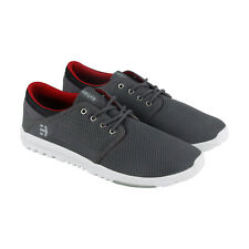 Etnies Scout Mens Gray Mesh Sneakers Lace Up Skate Shoes