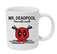 Mr Deadpool Tazza Mr Men Deadpool Ispirato Gadget Tazza Tè Caffè