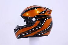 LAZER Osprey Tiger Casque Noir Orange Blanc S M L XL de moto pour scooter