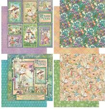 "Graphic45 Fairie Dust Double-Sided Cardstock 12"" doppels.Scrappapier 30,5x30,5"