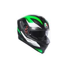 Casco Integrale AGV K5 S '18 MULTI MARBLE MATT BLACK | WHITE | GREEN