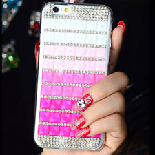 NEU Diamant Glizer Bling Kristall Strass Hartschale Hot Cover Apple iPhone