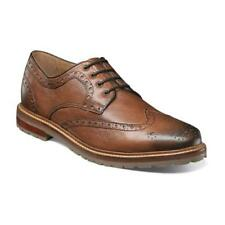 Florsheim Mens Shoes Estabrook Wingtip Oxford Cognac 14194-222