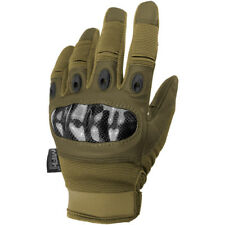 MFH Mission Tactical Gloves Paintball Airsoft Guards Mens Work Glove Coyote Tan