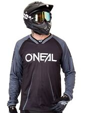 Oneal Black-Grey 2018 Element FR Blocker Long Sleeved MTB Jersey