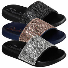 Women's Skechers 2nd Take Summer Chic Slip On Comfort Casual Flip Flop Sandals