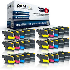 30 x Jumbo Cartuchos de tinta para Brother LC121/LC123 Set -drucker Serie Pro