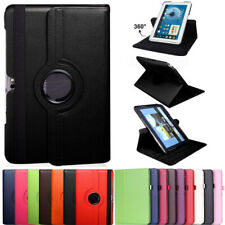 360 Rotating Case For Samsung Galaxy Note 10.1 N8000 Folio Leather Stand Cover