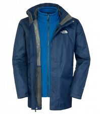 North Face Mens Triton Triclimate Jacket Cosmic Blue - Sizes S & XL