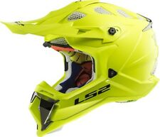LS2 MX470 SUBVERTER Giallo alta visibilità OFF ROAD MOTO DA CROSS ATV QUAD CASCO