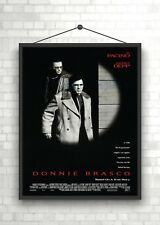 Donnie Brasco Pacino & Depp Classic Large Movie Poster Print