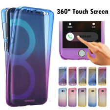 Shockproof 360° TPU Gel Protective Gradient Case Cover For Samsung Galaxy Series