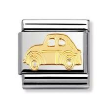 Nomination Italy Genuine Nominations Gold Car Classic Tech Charm Gift