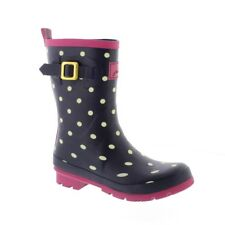 Joules Molly Welly - Marine Spot Bottes Femme