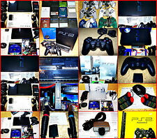 Sony PS2 & PSX Fat & SLM Consoles & Accessories Selection Singstar, Guitar Hero,