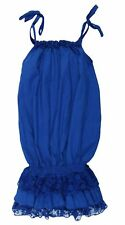 NERO su BIANCO Damen Kleid Royal Blau 1121-ROYALBLUE