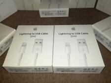 2m ORIGINAL GENUINE Apple Lightning USB Data Charger Cable iPhone 5 6 7 + s ipad