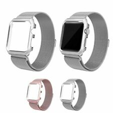 Milanese Loop Stainless Steel Strap Watch Band For Iwatch Apple Watch 38/42mm ES