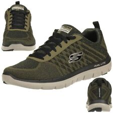 SKECHERS SKECH Flex Advantage 2.0 OLDEN Point Zapatillas De Hombre Oliva