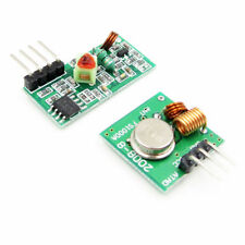 315/433 Mhz Wireless RF Transmitter Receiver Alarm Super Regeneration Arduino