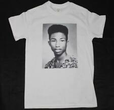 Pharrell Williams yearbook White T-Shirt S-3XL hiphop rap kanye hu