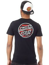 Santa Cruz Black Jessee V8 T-Shirt