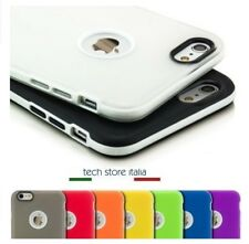 COVER Bumper Custodia ultra sottile Morbida Silicon TPU per iPhone 5-5S; 6-6S;7