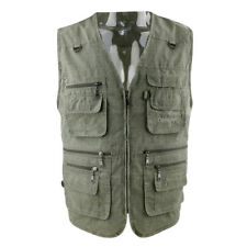 Men's Sports Vest Quick Dry Zipper Fishing Hunting Photography Jacket