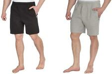 Red Tag Mens Fleece Lounge Shorts with Zip Pockets - Regular and Plus Sizes