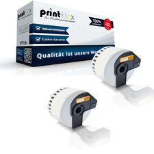 2x ALTERNATIVA Rotolo Etichette per Brother DKN55224 LABEL - UFFICIO Plus Serie