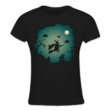Camiseta de mujer Flying Witch