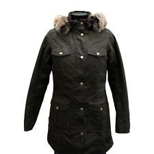 Barbour Women's Ashbridge Wax Jacket - Olive - Size 8